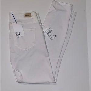 Paige verdugo crop optic white jeans size 24 nWT